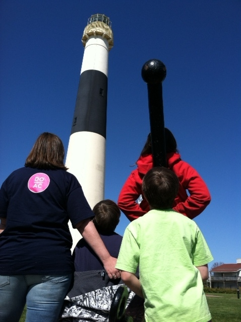 Kids at the Lighthouse